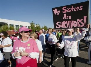 The Susan G. Komen Foundation has decided to cut funding for Planned Parenthood. The funds had been earmarked for breast-cancer screenings.