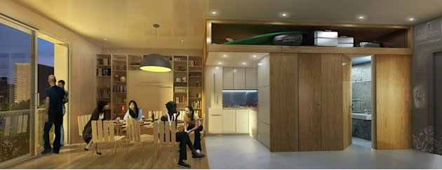 New York micro-apartment design&nbsp;&hellip;