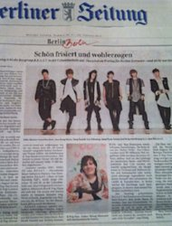 B2ST Tampil dalam Harian Terkemuka Jerman Berliner Zeitung