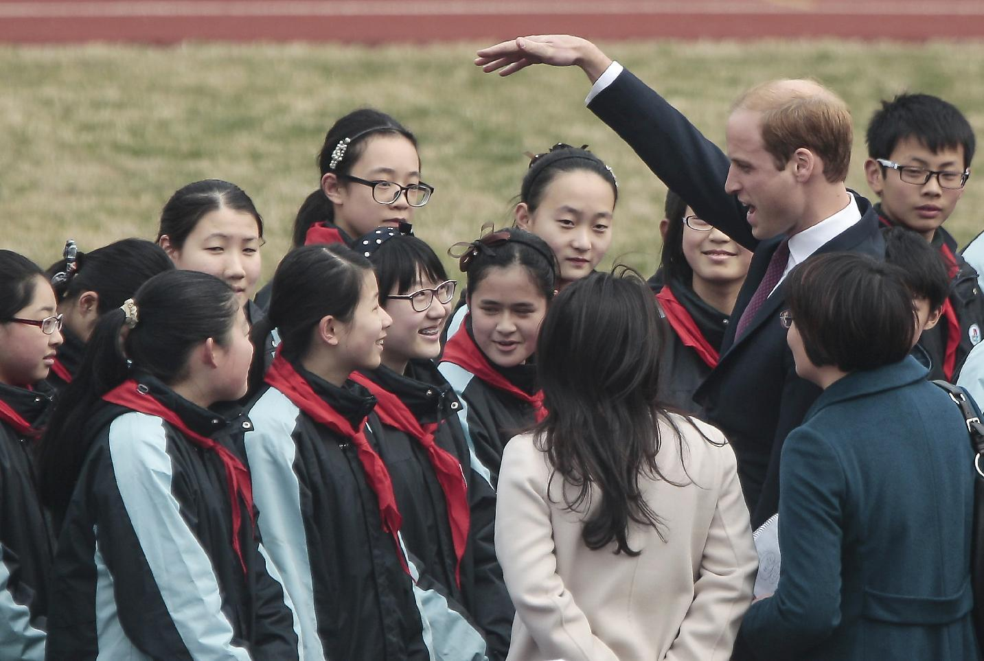 Prince William to meet elephants on final day of China tour