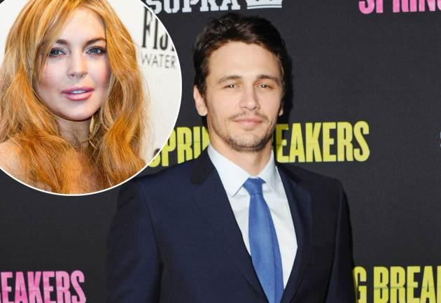 James Franco / Lindsay Lohan -- Getty Images