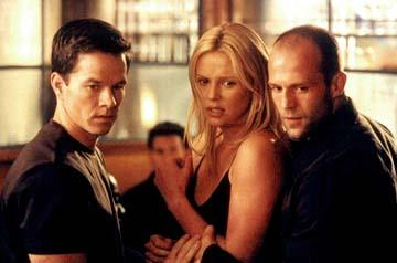 Mark Wahlberg , Charlize Theron and Jason Statham in Paramount's The Italian Job