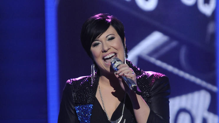 "Erika Van Pelt performs ""New York State of Mind"" by Billy Joel on ""American Idol."""