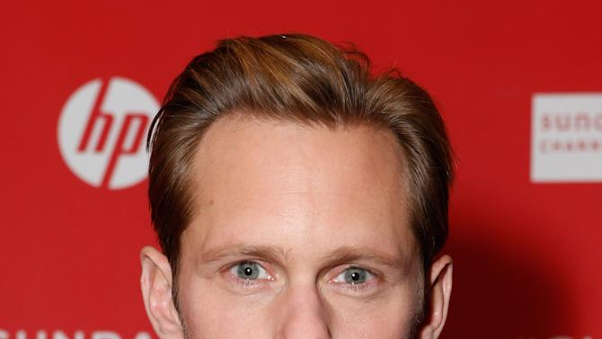 """IMAGE DISTRIBUTED FOR FOX SEARCHLIGHT - Actor Alexander Skarsgard attends Fox Searchlight's """"The East"""" premiere during the Sundance Film Festival on Sunday, Jan. 20, in Park City, Utah. (Photo by Todd Williamson/Invision for Fox Searchlight/AP Images)"""