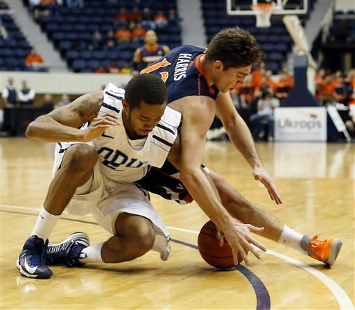 Old Dominion stuns Virginia 63-61