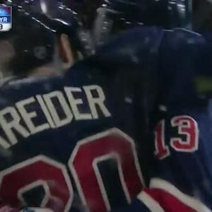 Chris Kreider Goal on Cam Ward (10:16/3rd)
