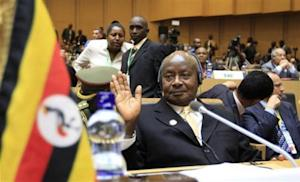 Museveni attends the opening ceremony of the 22nd Ordinary Session of the African Union summit in Addis Ababa