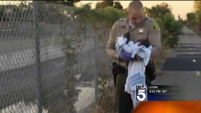 `She Is a Fighter,` Deputy Says of Newborn Found Buried Alive Along Compton Bike Path