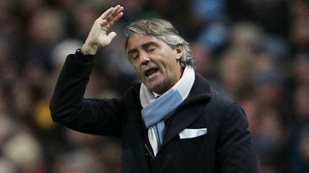 Roberto Mancini of Manchester City (Imago)