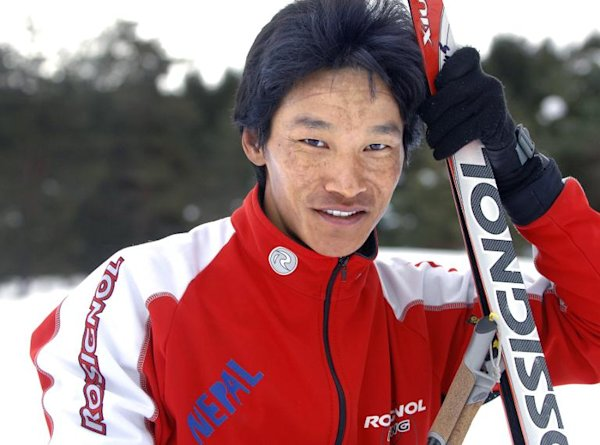 'I'll come last at the Olympics' predicts Nepal's bricklaying skier