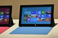 Microsoft's tablet SURFACE