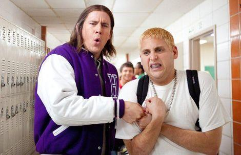 "Channing Tatum and Jonah Hill in ""21 Jump Street."" 2012-Columbia Pictures/Sony Pictures Entertainment. Used with permission."