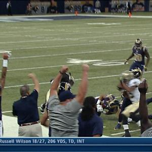 St. Louis Rams pull off surprise onside kick