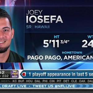 Tampa Bay Buccaneers pick running back Joey Iosefa No. 231 in 2015 NFL Draft
