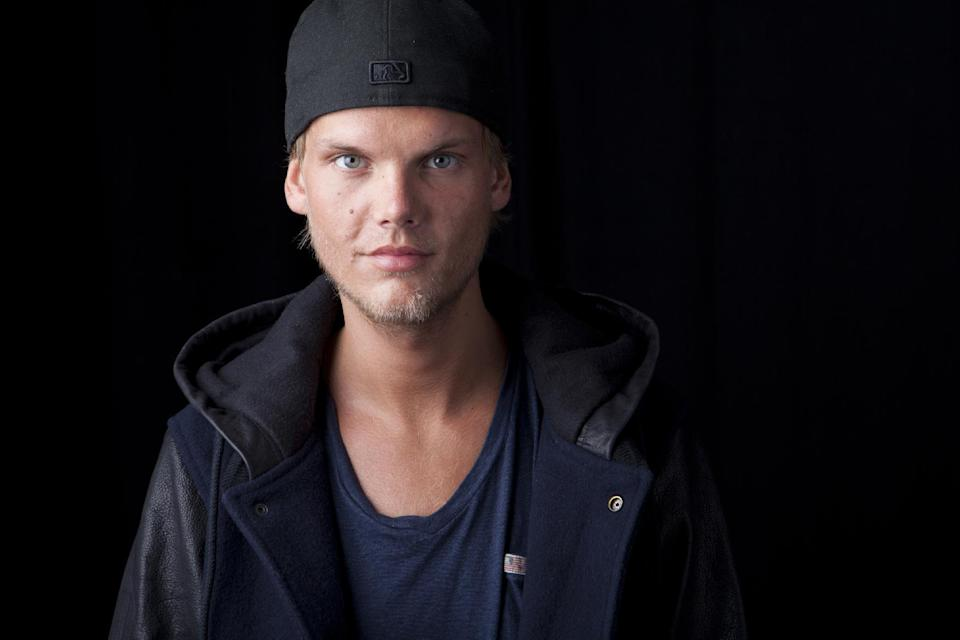 Swedish DJ, remixer and record producer Avicii poses for a portrait, on Friday, Aug. 30, 2013 in New York. (Photo by Amy Sussman/Invision/AP)