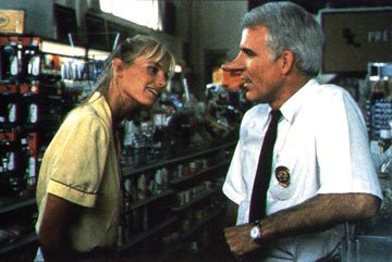 Daryl Hannah and Steve Martin in Columbia Pictures' Roxanne