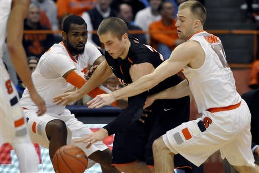 No. 6 Syracuse beats Princeton 73-53