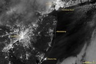 This image was captured on Nov. 1, 2012, after Hurricane Sandy.