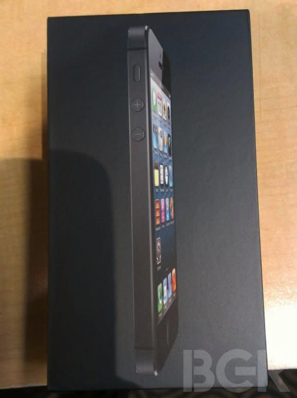 World's first iPhone 5 unboxing