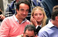 Olivier Sarkozy y Mary Kate Olse via yahoo