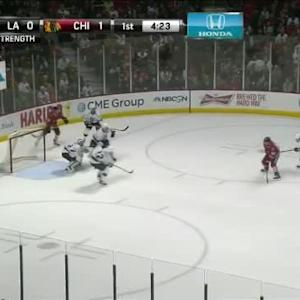 Jonathan Quick Save on Antoine Vermette (15:39/1st)