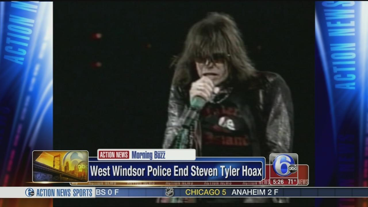 Police: Steven Tyler not really doing a strawberry farm show