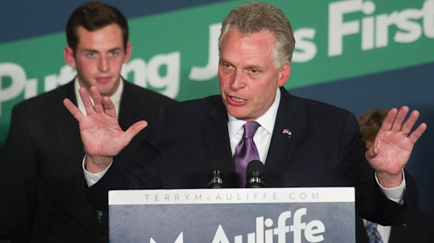 Democrat Terry McAuliffe Wins Virginia Governor Race, AP Projects (ABC News)