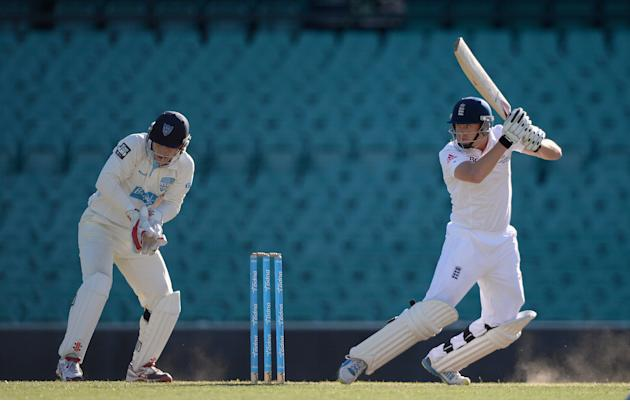 CA Invitational XI v England: Day 2