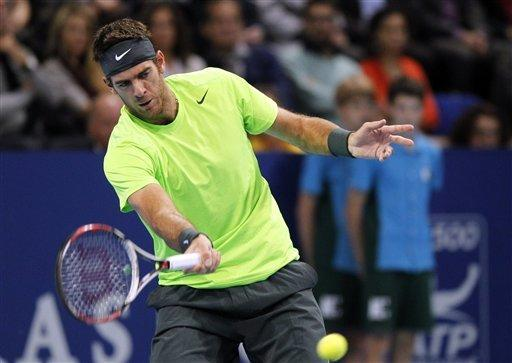 Del Potro beats Federer to win Swiss Indoors title