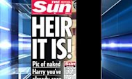 The Sun Prints Naked Prince Harry Pictures