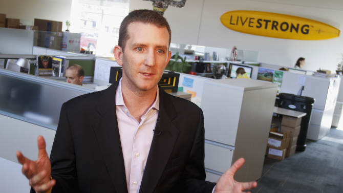 Livestrong Foundation charts post-Armstrong course