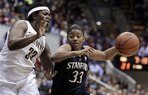 No. 5 Stanford women beat No. 7 California 62-53