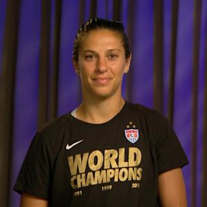Carli Lloyd after the Women's World Cup