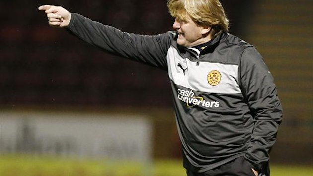 Motherwell manager Stuart McCall wants to bid a fond farewell to 2012