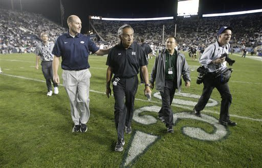 Freshmen Hill, Williams lift BYU over Hawaii 47-0