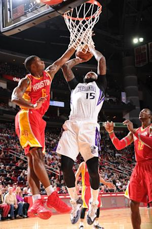 Gay, Cousins lead Kings past Rockets, 110-106
