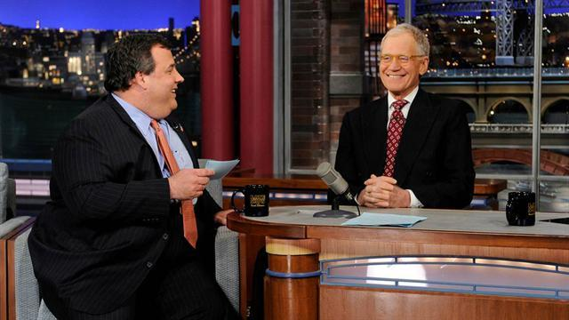 David Letterman - New Jersey Gov. Chris Christie