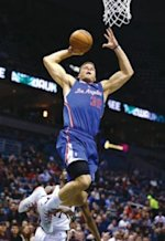 Blake Griffin going up for a dunk