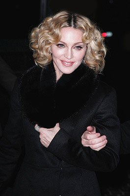 Madonna at the New York City premiere of Samuel Goldwyn Films' Revolver