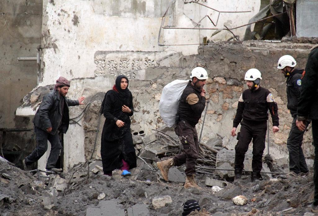Syria's White Helmets 'proud' after Oscar nomination