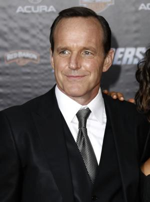 "FILE - In this April 11, 2012 file photo, actor Clark Gregg arrives at the premiere of ""The Avengers"" in Los Angeles.  The film will be released in theaters May 4. (AP Photo/Matt Sayles, file)"