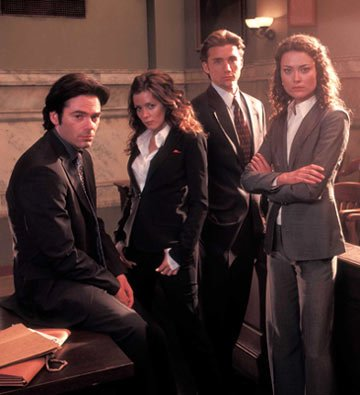 Billy Burke, Anna Friel, Jeff Hephner and Shalom Harlow