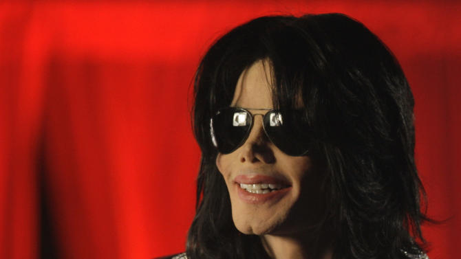 "FILE - In this March 5, 2009 file photo, Michael Jackson speaks at a news conference in London. The singer also stated that this would be his final performances in London. AEG Live LLC CEO Randy Phillips told a jury on Thursday June 6, 2013, that he did not consult with a mental health professional for Jackson despite the suggestion by two high-level workers on the ""This Is It"" tour that the singer needed serious counseling in the days before his June 2009 death. (AP Photo/Joel Ryan, File)"