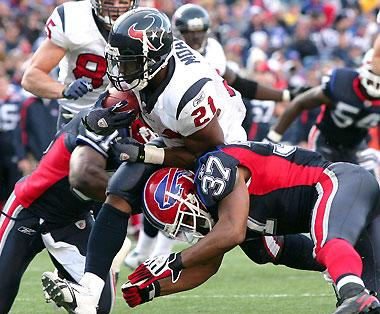 Power formation will help Texans in red zone