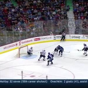 Brian Elliott Save on Jannik Hansen (05:15/3rd)