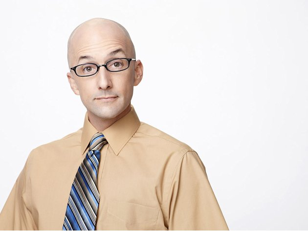 "Jim Rash stars as Dean Pelton in ""Community."""