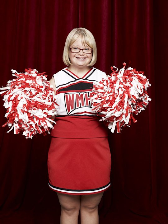 "Lauren Potter returns as Becky in ""Glee."""