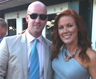 Charlie Bigelow and Elisa Donovan -- Elisa Donovan/Twitter