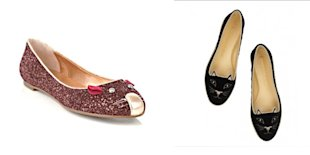 Its A Marc By Marc Jacobs Mouse Flats Vs. Charlotte Olympia Kitty Pumps Fash-Off!