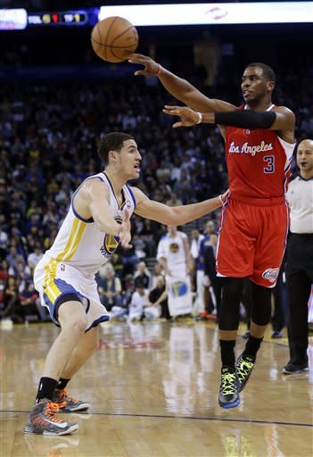 Curry scores 28 in Warriors win over Clippers